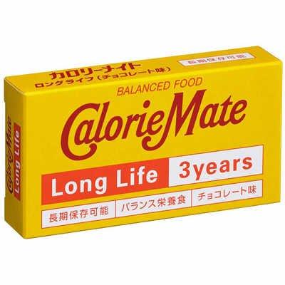 12個セット まとめ買い大塚製薬カロリーメイトロングライフ3年・長期保存非常食・チョコレート味一箱2本入り
