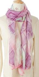 シルク 100% シルクロングスカーフ No.4 <178cmx64cm>  【絹100%】【ネコポス対応可】