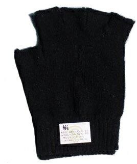 【2枚組】 シルクたっぷり♪シルク手袋   ブラック  【ネコポス対応可】【絹 手袋】【絹製品】