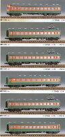 全金湘南80系300番台 6輌編成セット(未塗装組立キット)【グリーンマックス・203】「鉄道模型 Nゲージ GREENMAX」