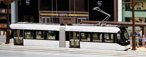 ☆Nゲージ 鉄道模型 カトー☆富山市内電車環状線9000形 セントラム(白)【KATO・14-802-1】...