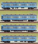 JR103系(低運転台) 4輌編成セット(未塗装組立キット)【グリーンマックス・435】「鉄道模型 Nゲージ GREENMAX」