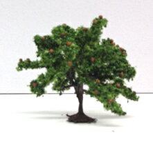 栗の木40mm 3本入【KATO・24-089】「鉄道模型 Nゲージ 樹木」