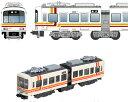 江ノ電1000形サンライン号 2両セット【バンダイ・936837】「鉄道模型 Nゲージ BANDAI」