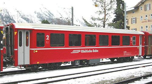 アルプスの赤い客車 Ew I 4両増結セット 【KATO・10-1414】「鉄道模型 Nゲージ カトー」