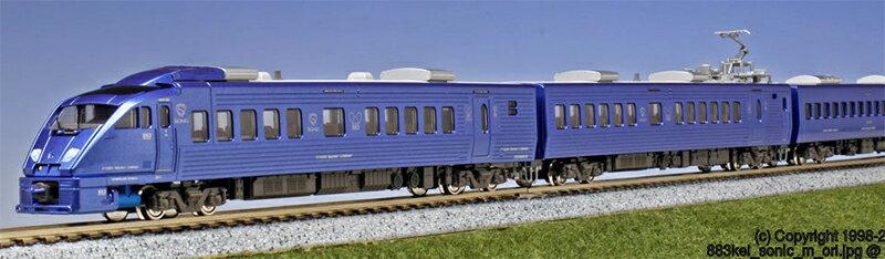 ※新製品 3月発売※883系「ソニック」 リニューアル車(3次車) 7両セット 【KATO・10-1475】「鉄道模型 Nゲージ カトー」
