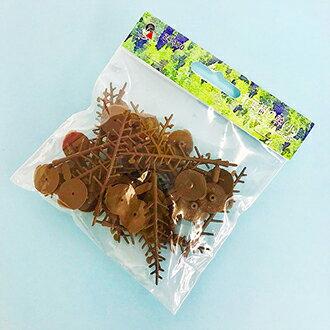針葉樹の幹(小) 60-100mm 24本入 【KATO・24-370】「鉄道模型 Nゲージ 樹木」
