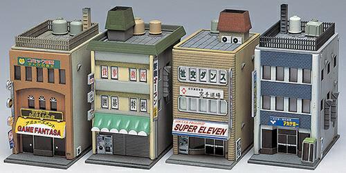 商業ビル 3F(4棟入り)【グリーンマックス・2157G】「鉄道模型 …