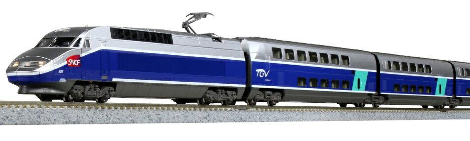 鉄道模型, 電車 TGV Reseau Duplex 10KATO10-1529 N