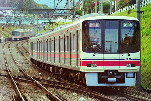 京王8000系(8803編成 登場時 グレースカート)基本4両編成セット(動力付き)【グリーンマックス・30372】「鉄道模型 Nゲージ」
