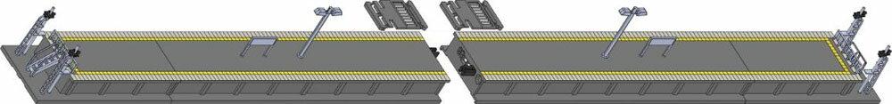 島式ホーム(都市型)端ホームセット【TOMIX・4279T】「鉄道模型…