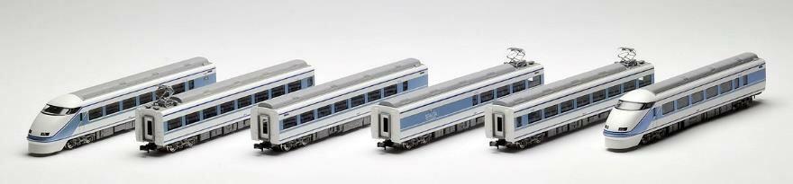 東武100系スペーシア(粋カラー)セット(6両)【TOMIX・98760】「鉄道模型 Nゲージ トミックス」