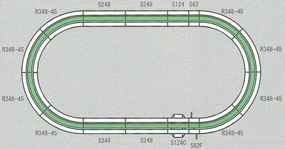鉄道模型, 線路 V6 KATO20-865 N