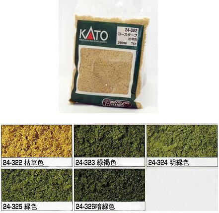 コースターフ 暗緑色【KATO・24-326】「鉄道模型 カトー レイアウト」