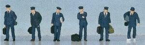 ☆レイアウト Nゲージ☆乗務員【KATO・24-201】「鉄道模型 Nゲージ 人間」