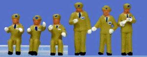 ☆レイアウト Nゲージ☆運転士/車掌 冬服(ベージュ)【KATO・24-273】「鉄道模型 Nゲージ 人...