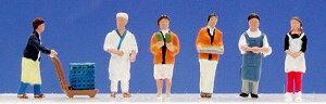 ☆レイアウト Nゲージ☆商店街の人々1【KATO・24-230】「鉄道模型 Nゲージ 人間」