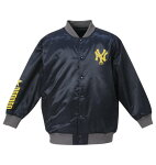 NYミリタリープリントサテンジャケット