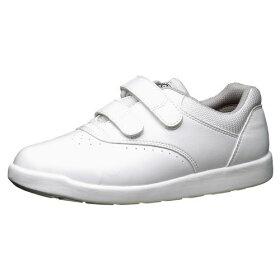【大サイズ】滑りにくい靴【送料無料】ミドリ安全男女兼用超耐滑軽量作業靴ハイグリップH815ホワイト大