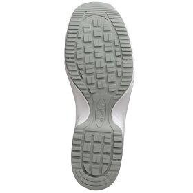 静電安全作業靴【送料無料】ミドリ安全男女兼用ワークプラス先芯入りスニーカーSLS−705静電ホワイト[静電靴静電気防止静電気除去帯電防止]