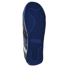 ミドリ安全男女兼用軽量樹脂先芯スニーカーワークプラスクラシックWPC111ブラック×ブルー