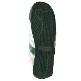 ミドリ安全男女兼用軽量樹脂先芯スニーカーワークプラスクラシックWPC555ホワイト×グリーン