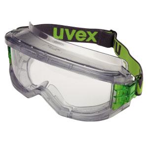 ゴーグル めがね・マスク併用可 [ウベックス] uvex ultravision 【セルロースアセテートレンズ(内面:曇り止め加工)やわらかい耳あたり】 X-9301 ウルトラビジョン