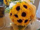【送料無料】元気を贈ろう♪ひまわり 花束 10本〜★お届けは...
