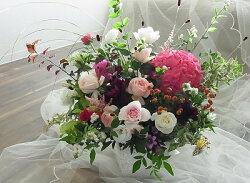 【送料無料】季節の1番輝いているお花を贈りませんか?オーダーメードのアレンジをおとどけします【あす楽対応_関東】