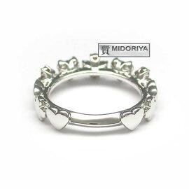 【緑屋質屋】ポンテヴェキオダイヤモンドリング0.160.30ctK18WG