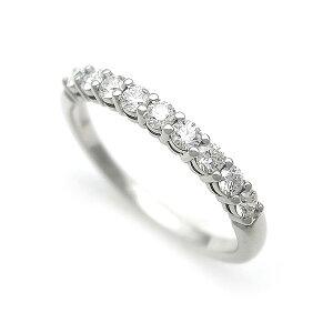 [Midoriya当铺] Tiffany拥抱乐队戒指半圈共享爪设置拨号Pt950 2.2mm [二手]