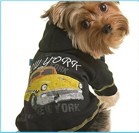 ★RuffLuv/ラフラブ★NY Taxi Hoodie犬用裏起毛フーディー