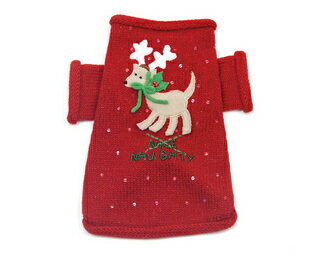 NEW★Oscar Newman★(オスカーニューマン)Naughty or Nice Sweater犬用トナカイ柄セーター