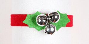 ★Susan Lanci★スーザンランシーJingle Bells Collarクリスマス用首輪