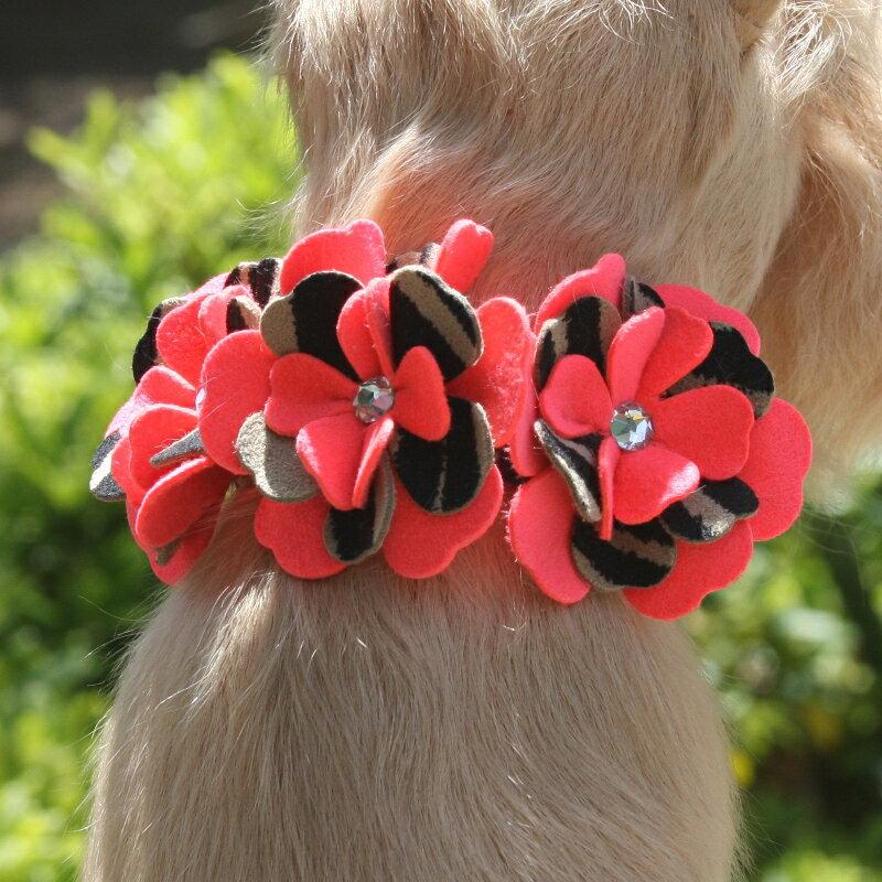 ★Susan Lanci★スーザンランシーSarah Collar犬用スワロフスキ付き首輪