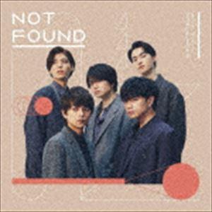 邦楽, ロック・ポップス Sexy Zone NOT FOUND CD