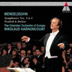 ニコラウス・アーノンクール(cond) / メンデルスゾーン:交響曲第3番「スコットランド」&第4番「イタリア」 [CD]