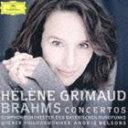 エレーヌ・グリモー(p) / ブラームス:ピアノ協奏曲第1番&第2番(来日記念盤/SHM-CD) [CD]