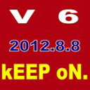V6 / kEEP oN.(通常盤/ジャケットC) [CD]