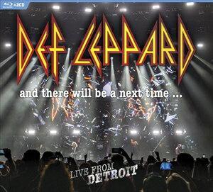 ミュージック, その他  DEF LEPPARD AND THERE WILL BE A NEXT TIME - LIVE FROM DETROIT BLU-RAY2CD