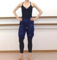 【グリシコ】汗でます♪踊りやすいです!バレエ用サウナパンツ(膝丈ハーフサウナパンツ)