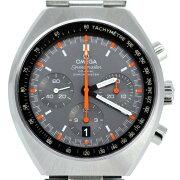 腕時計オメガスピードマスターマークⅡコーアクシャルクロノグラフ327.10.43.50.06.001メンズO.H済み自動巻き送料無料質屋