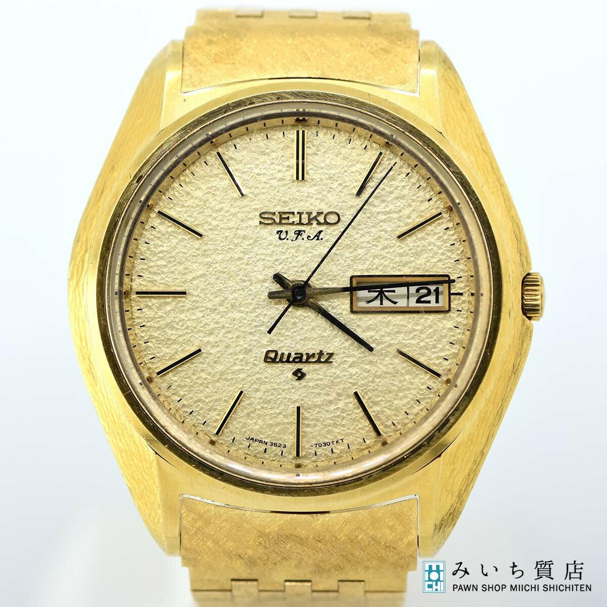 腕時計, メンズ腕時計  SEIKO VFA 3823-7030 750 K18 127.9g QZ OH