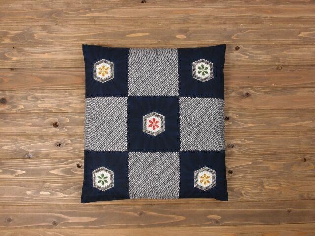 【5枚以上で送料半額10枚以上で送料無料】 日本製 座布団カバー 55×59cm 銘仙判 ネコポスにも対応いたします