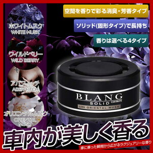芳香剤カーメイトブラングソリッド消臭芳香カーフレグランス