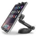手帳対応型スマホホルダー 車用品 ドリンクイン 360度可動可能 iPhone android 充電収納可能/ヤック PZ-785