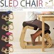 スレッドチェア 子供から大人まで 膝あて高さ調整可 学習チェア 学習椅子【送料無料】【】【RW】子ども 椅子 子供椅子【特】ko-te- SLED-1【PR10】