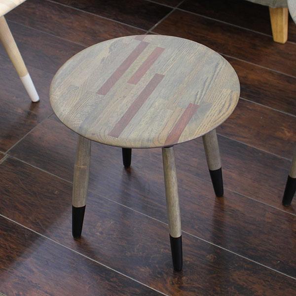 サイドテーブル 幅40cm 無垢材 テーブル 北欧家具 送料無料 【S3】:クレセント(輸入家具&雑貨)