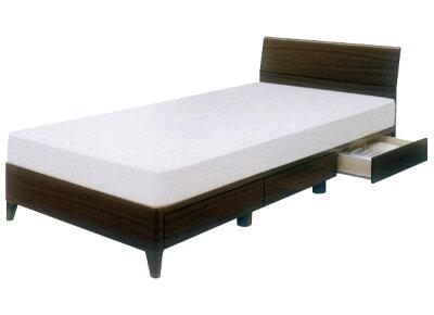セミダブルベッド引き出し付きフレームのみ激安ベッドシンプルスマートデザイン