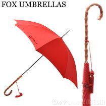 PAUSE_フォックスアンブレラFOXUMBRELLASレディース雨傘雨具高級長傘WL4/Red350WHANGHEECANECROOKHANDLEワンギーケーンクルックハンドル竹【新着アイテム】